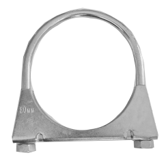 79mm Aluminised Exhaust Clamp