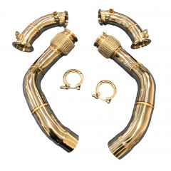 BMW M5 F90 Decat Exhaust Downpipes