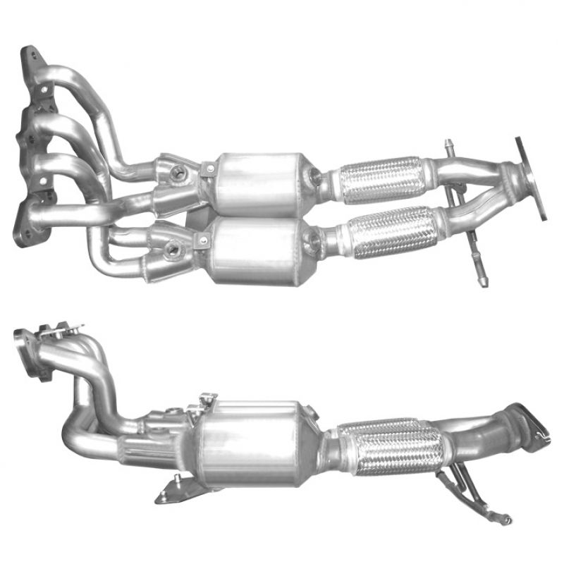 10 In Stock: 2010 Ford Focus Catalytic Converter At Woreks.co