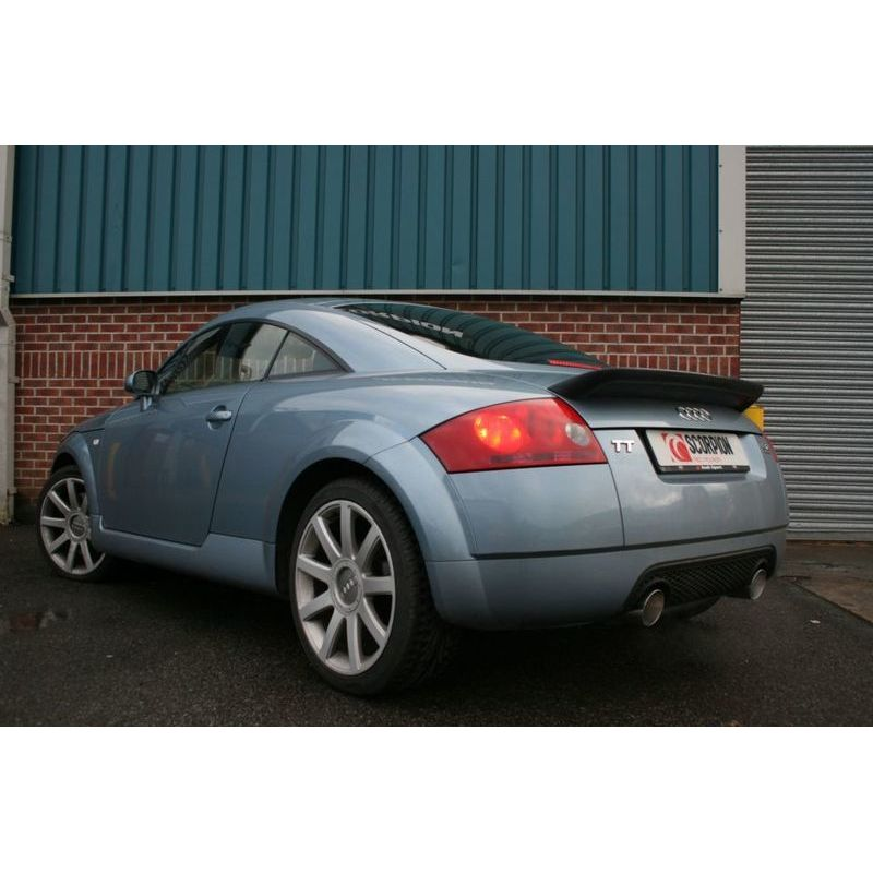 audi tt mk1 quattro 3 2 v6 cat back resonated exhaust. Black Bedroom Furniture Sets. Home Design Ideas