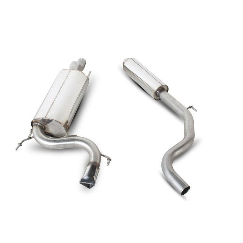 vauxhall corsa d vxr 3 resonated cat back exhaust. Black Bedroom Furniture Sets. Home Design Ideas