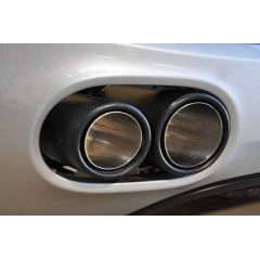 Audi R8 V8 Carbon Fibre Twin Tailpipes