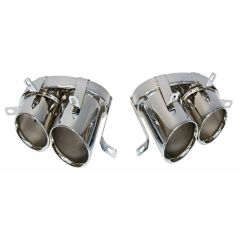 Audi R8 V8 Stainless Steel Twin Tailpipes