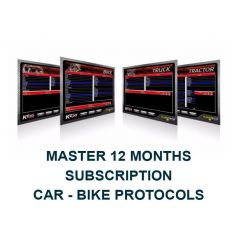 Kess V2 Master 12 Months Subscription. Car - Bike Protocols