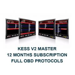 Kess V2 Master 12 Months Subscription Full OBD Protocols