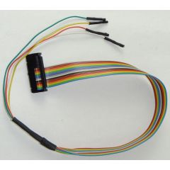 NewTrasdata Spare - Coloured flat Cable with pigtail wires for CAN & GPT IDC26-16 (Bosch MED17)