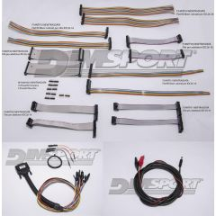 NewTrasdata Spare set - flat Cables and strips (full connecting Kit to ECU Board)