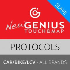 NewGenius Car-Bike-Light Comm. Vehicles Protocols, Slave (inclusive of 1 year subscription)